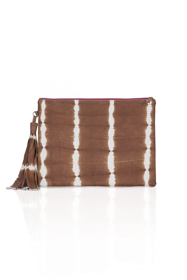 Clutch Laptop Bag Caramel
